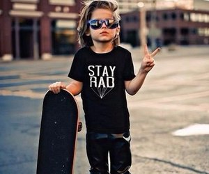 boy, skate, and kids image