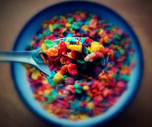 cereal, food, and colorful image