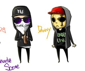 hollywood undead, band, and danny image