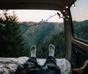 hipster, indie, and travel image