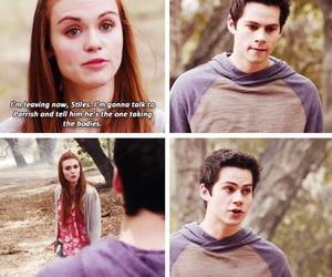 teen wolf, stiles stilinski, and holland roden image