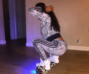adidas, hoverboard, and goals image