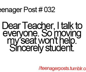 funny, student, and teacher image