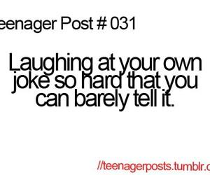 funny, laughing hard, and joke image