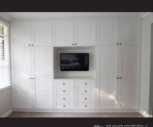 hinged wardrobe designs image
