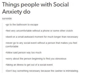 anxiety, sad, and social anxiety image