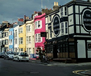 cloudy, Houses, and uk image
