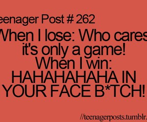 funny, game, and looser image