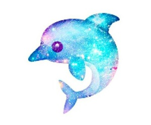 dolphin, emoji, and blue image