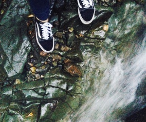 girl, nature, and vans image
