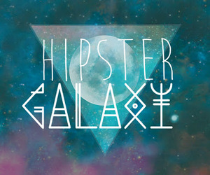 galaxy and hipster image