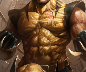 Marvel, wolverine, and art image
