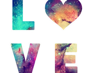 love, galaxy, and hipster image