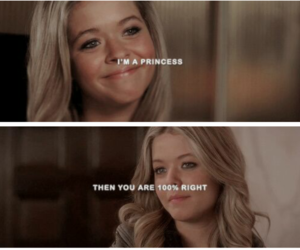 princess, Queen, and pll image