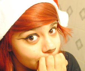 christmas, girl, and red haired image
