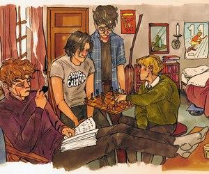 book and hogwarts image