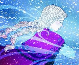 disney princess, frozen heart, and princess anna image
