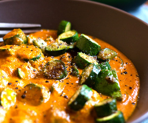 curry, soup, and zucchini image