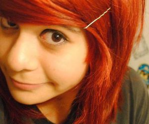 30 seconds to mars, girl, and red haired image