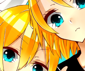 vocaloid, rin, and kagamine image