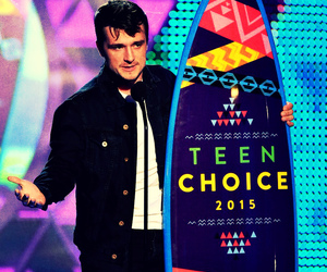 josh hutcherson and teen choice awards 2015 image