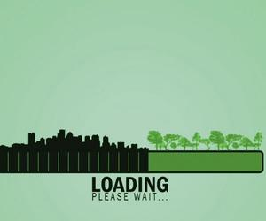 nature and loading image