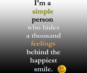 smile, quote, and feelings image