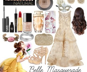 belle, princess belle, and masquerade image