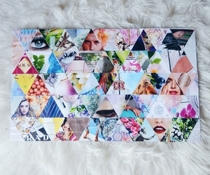 artsy, canvas, and Collage image