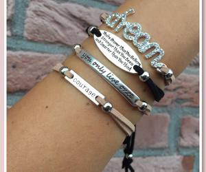 bracelets, courage, and Dream image
