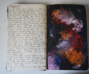 art and notebook image