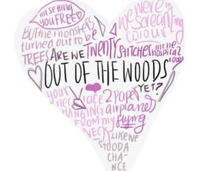 1989, Lyrics, and Taylor Swift image