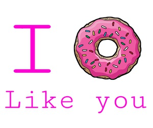 background, cool, and donut image