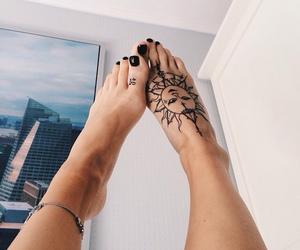 nails, tatoo, and cute image