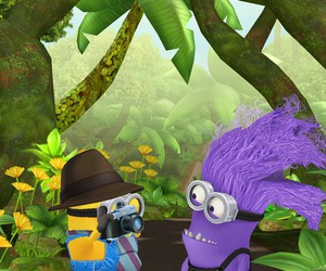 cool and minion# image