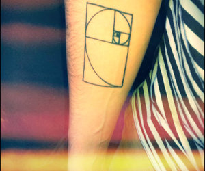 golden ratio, photo, and tattoo image