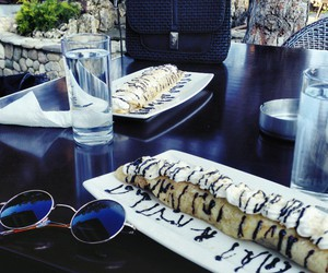lovely, pancakes, and sunglasses image