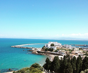 Algeria, beach, and holiday image