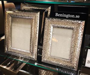 chrome, silver, and frames image
