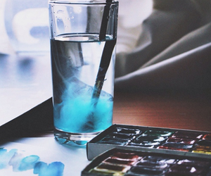 blue, colour, and water image