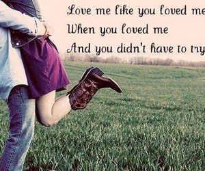 boots, love quote, and love quotes image