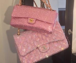 pink, bag, and chanel image