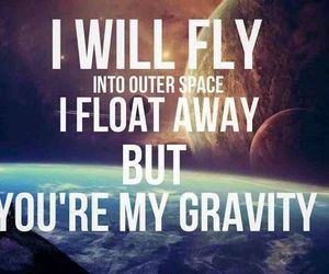 fly, gravity, and Lyrics image