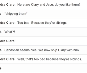 the mortal instruments, jace herondale, and clary fairchild image