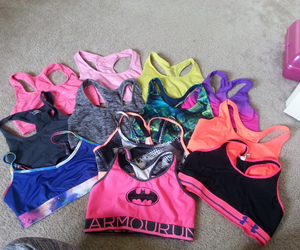 fitness, workout, and sports bra image