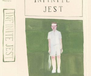 book, green, and infinite jest image