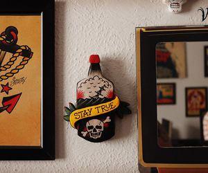 decoration, tattoo old school, and vuduloja image