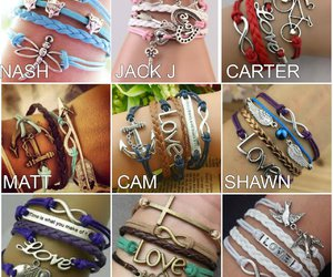 bracelet, preferences, and old magcon image