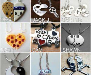 bff, magcon boys, and necklaces image