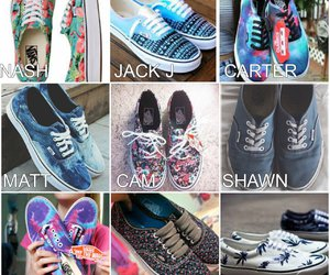 vans, preferences, and old magcon image